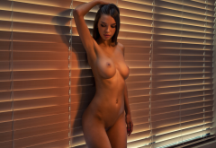 Alina Model Sexy Beauty Hot Naked Boobs Big Tits Shaved Pussy Pussy Sexy Wallpaper