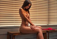 Alina Model Sexy Beauty Hot Naked Boobs Big Tits Wallpaper