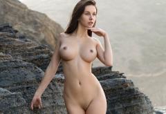 Alisa I Jessica Albanka Alisa Amore Alisa Perfect Hot Boobs Big Tits Brunette Shaved Pussy Rocks Sexy Wallpaper