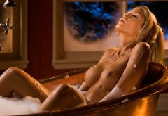 Wet Bathtub Boobs Big Tits Nipples Foam Tanned Hot Sexy Wet Wallpaper